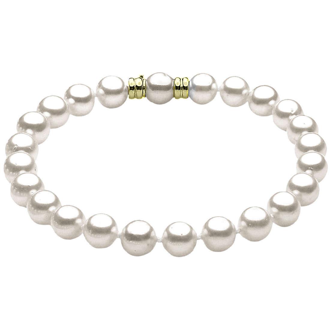 bracciale donna gioielli Comete Perla BRP 6,5/7 G