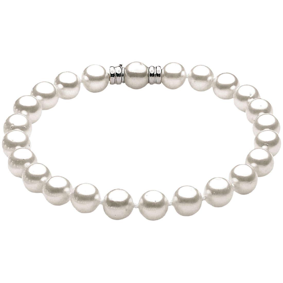 bracciale donna gioielli Comete Perla BRP 7,5/8 G