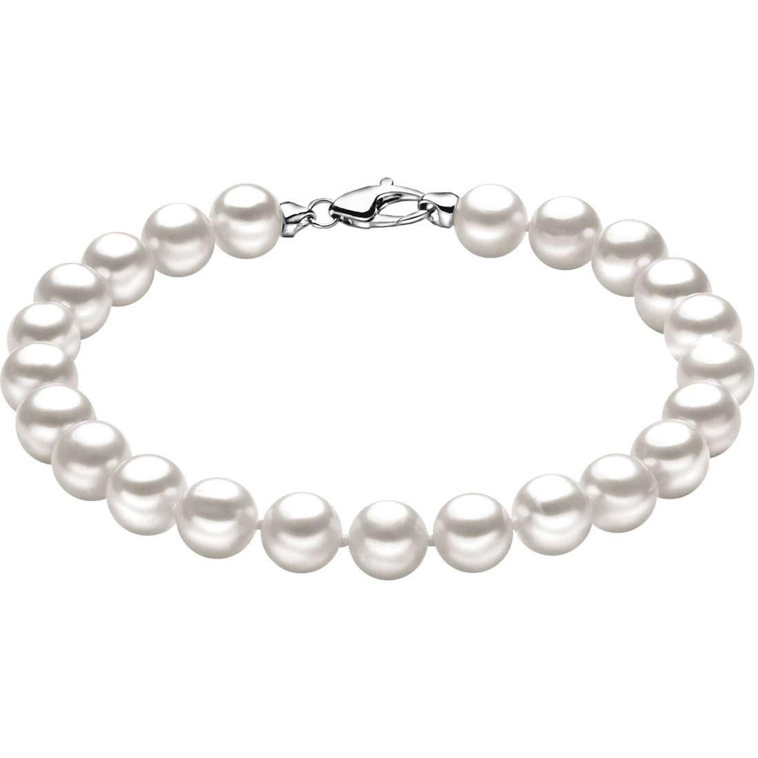 bracciale donna gioielli Comete Perla BRQ 110 G
