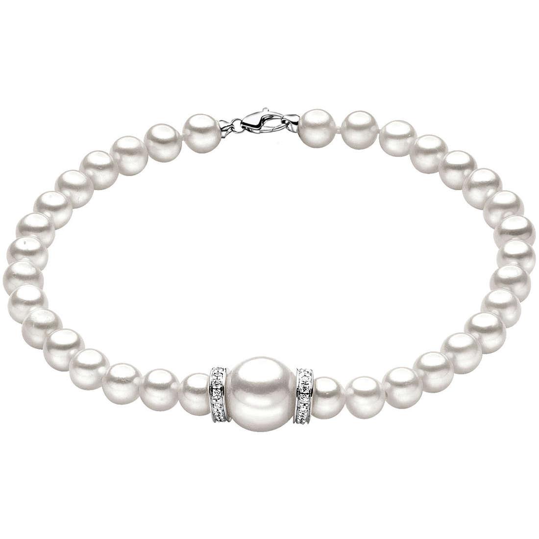 bracciale donna gioielli Comete Perla BRQ 121