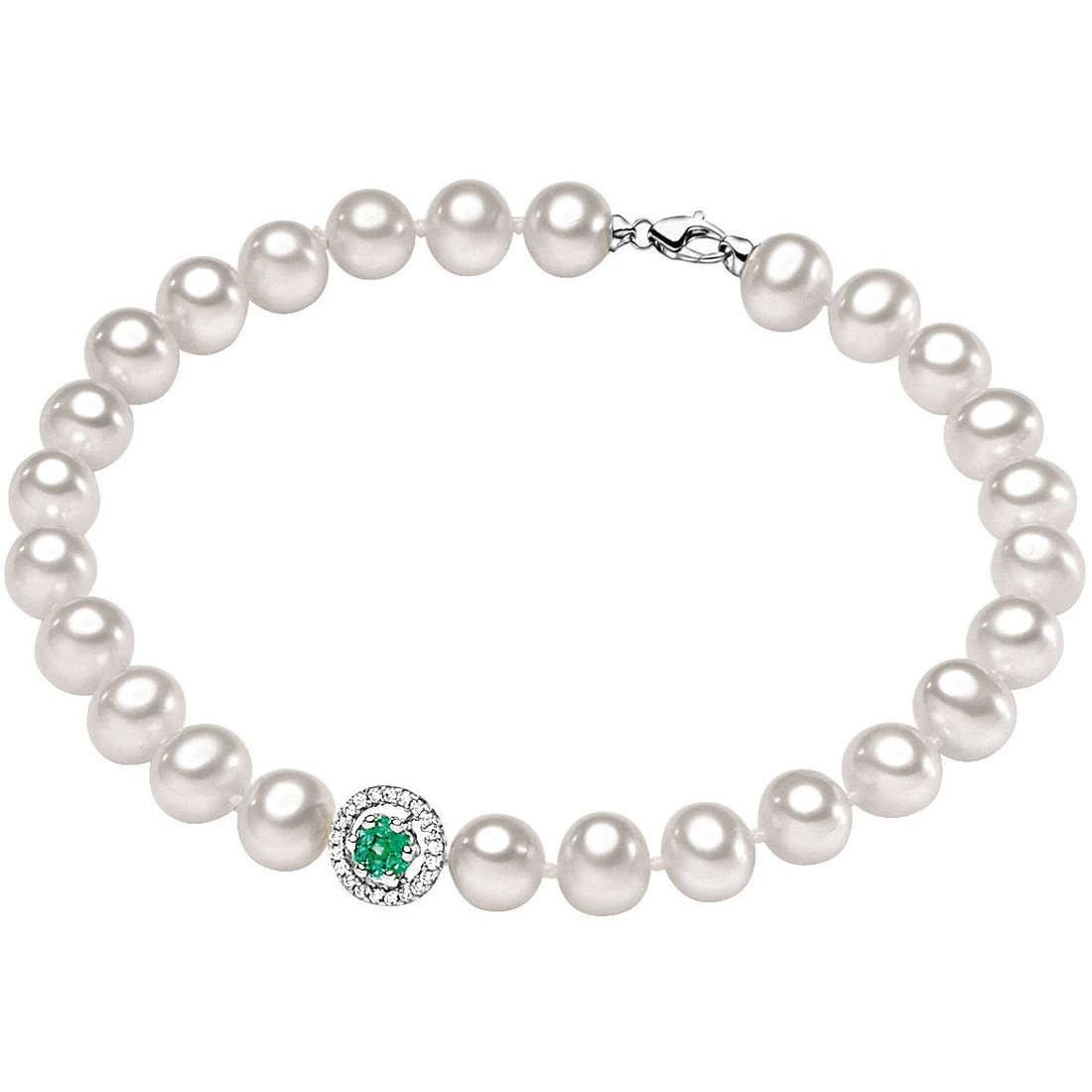 bracciale donna gioielli Comete Perla BRQ 126