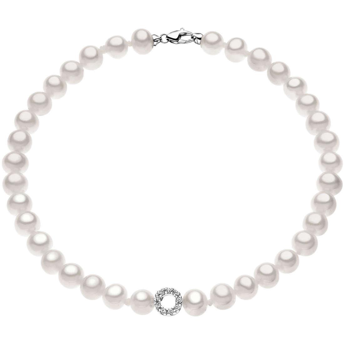 bracciale donna gioielli Comete Perla BRQ 128