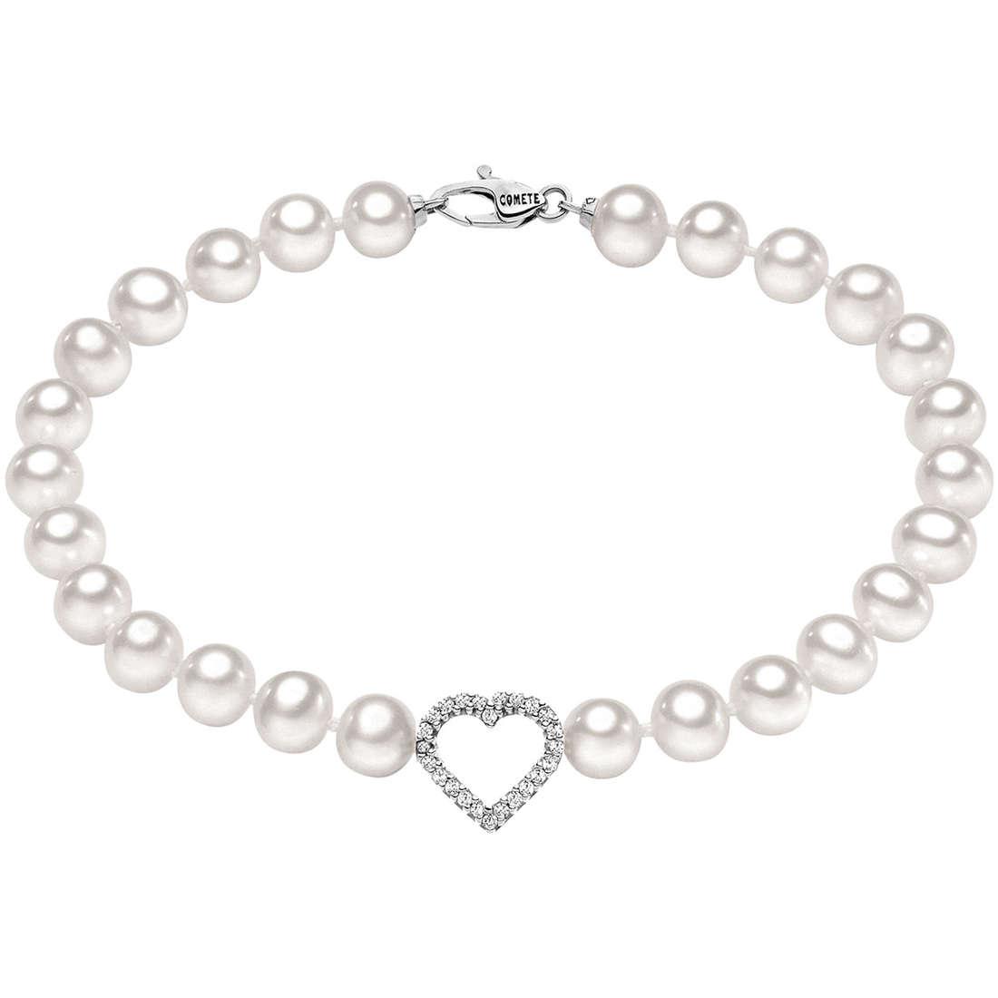 bracciale donna gioielli Comete Perla BRQ 129