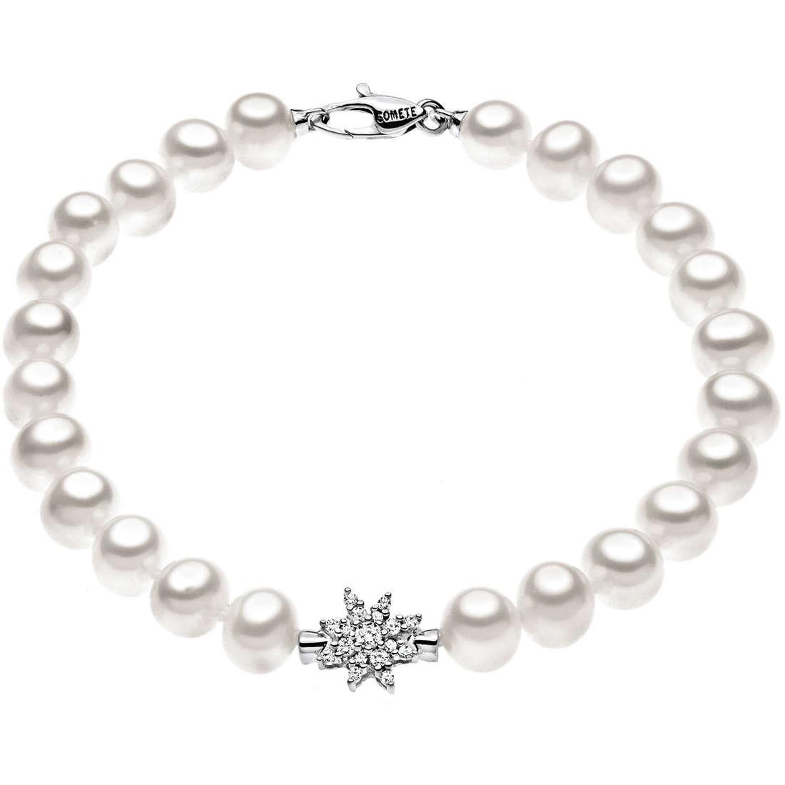 bracciale donna gioielli Comete Perla BRQ 131