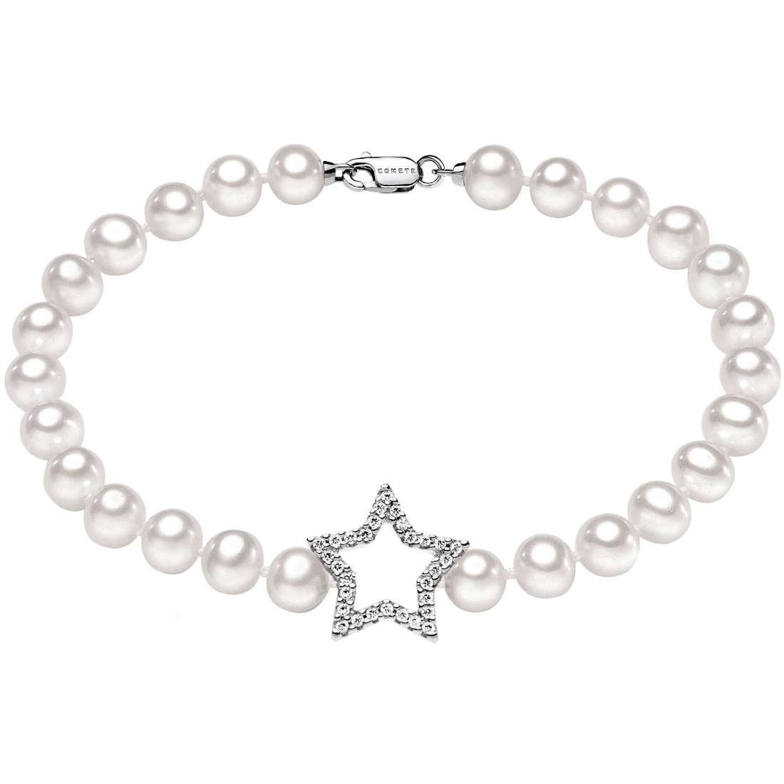 bracciale donna gioielli Comete Perla BRQ 134