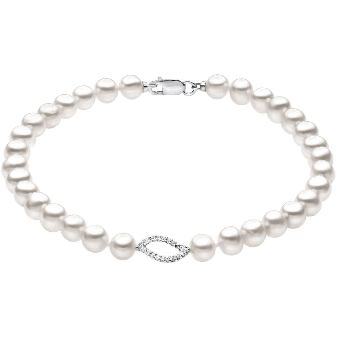 bracciale donna gioielli Comete Perla BRQ 135