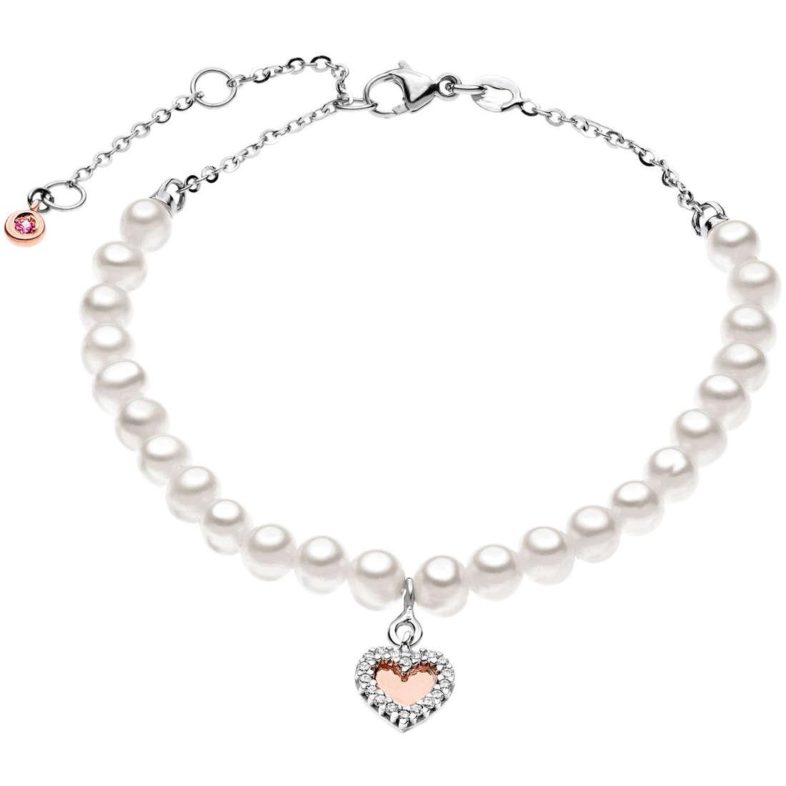 bracciale donna gioielli Comete Perla BRQ 136