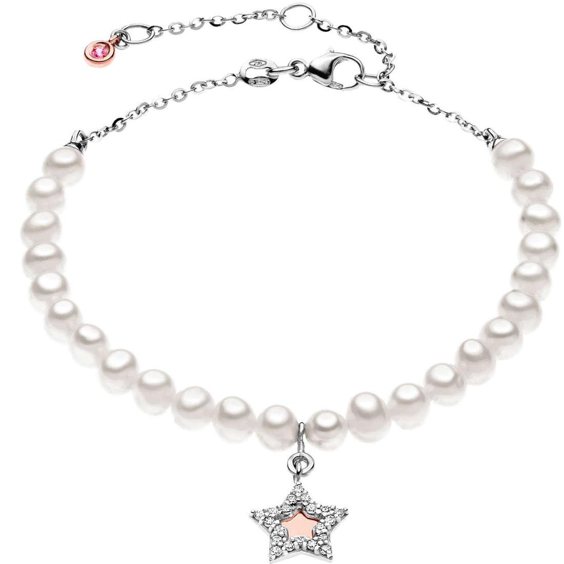 bracciale donna gioielli Comete Perla BRQ 137