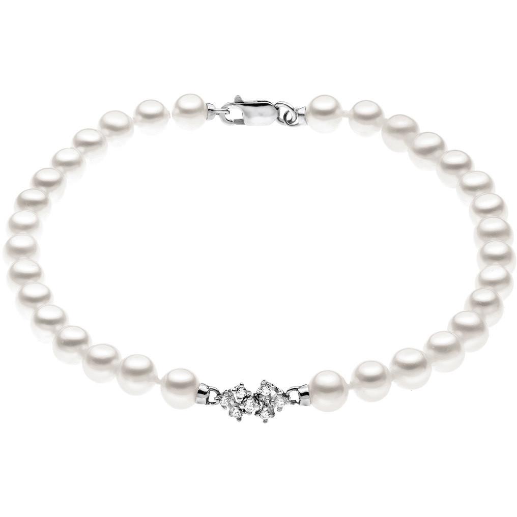 bracciale donna gioielli Comete Perla BRQ 139