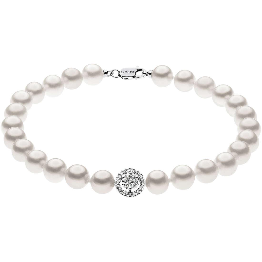 bracciale donna gioielli Comete Perla BRQ 158