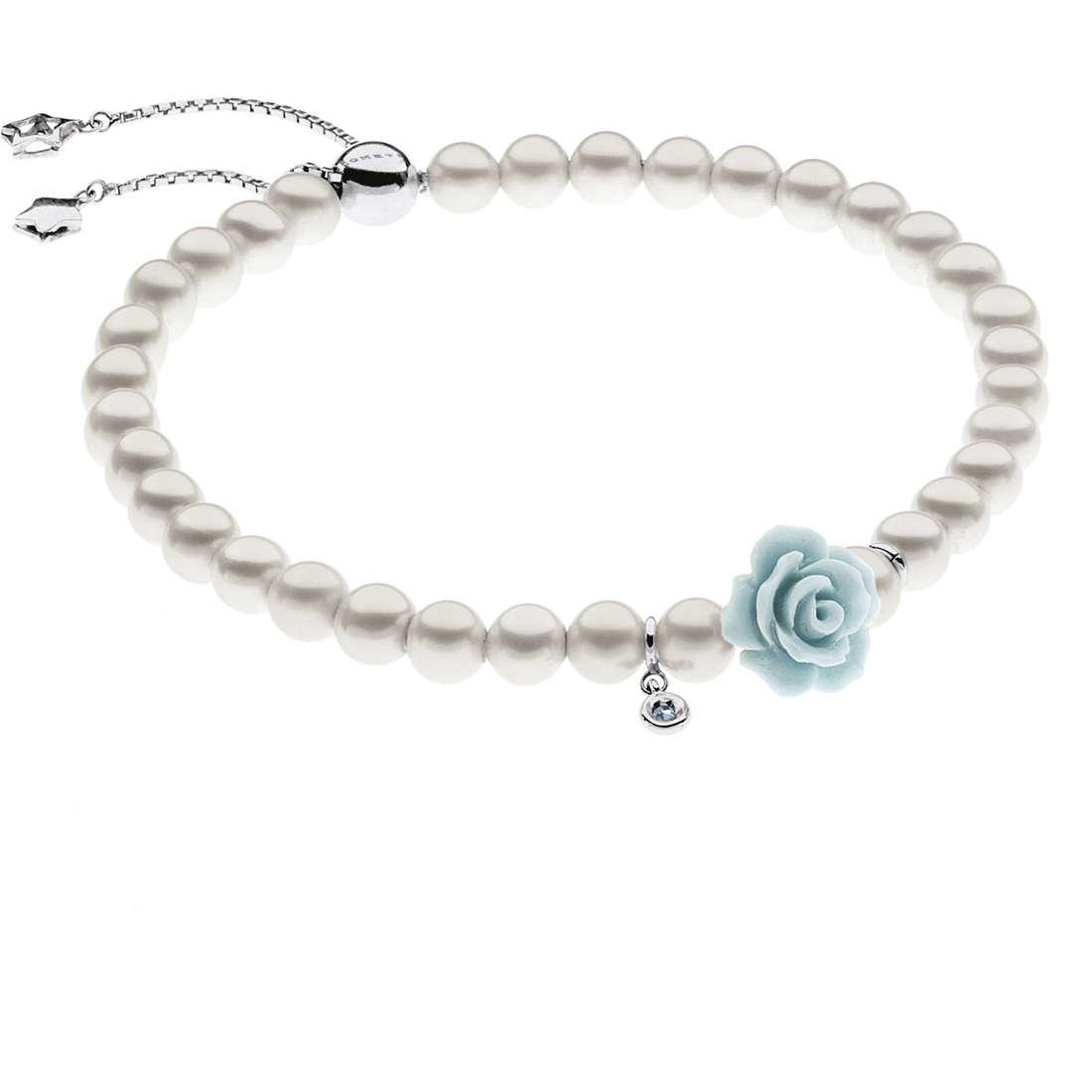 bracciale donna gioielli Comete Perla BRQ 159