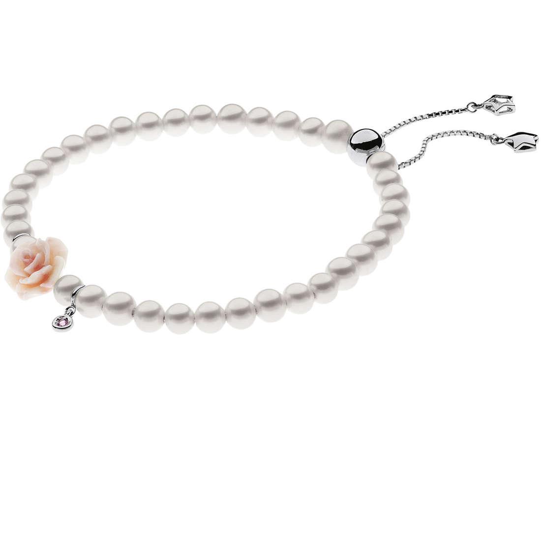 bracciale donna gioielli Comete Perla BRQ 160