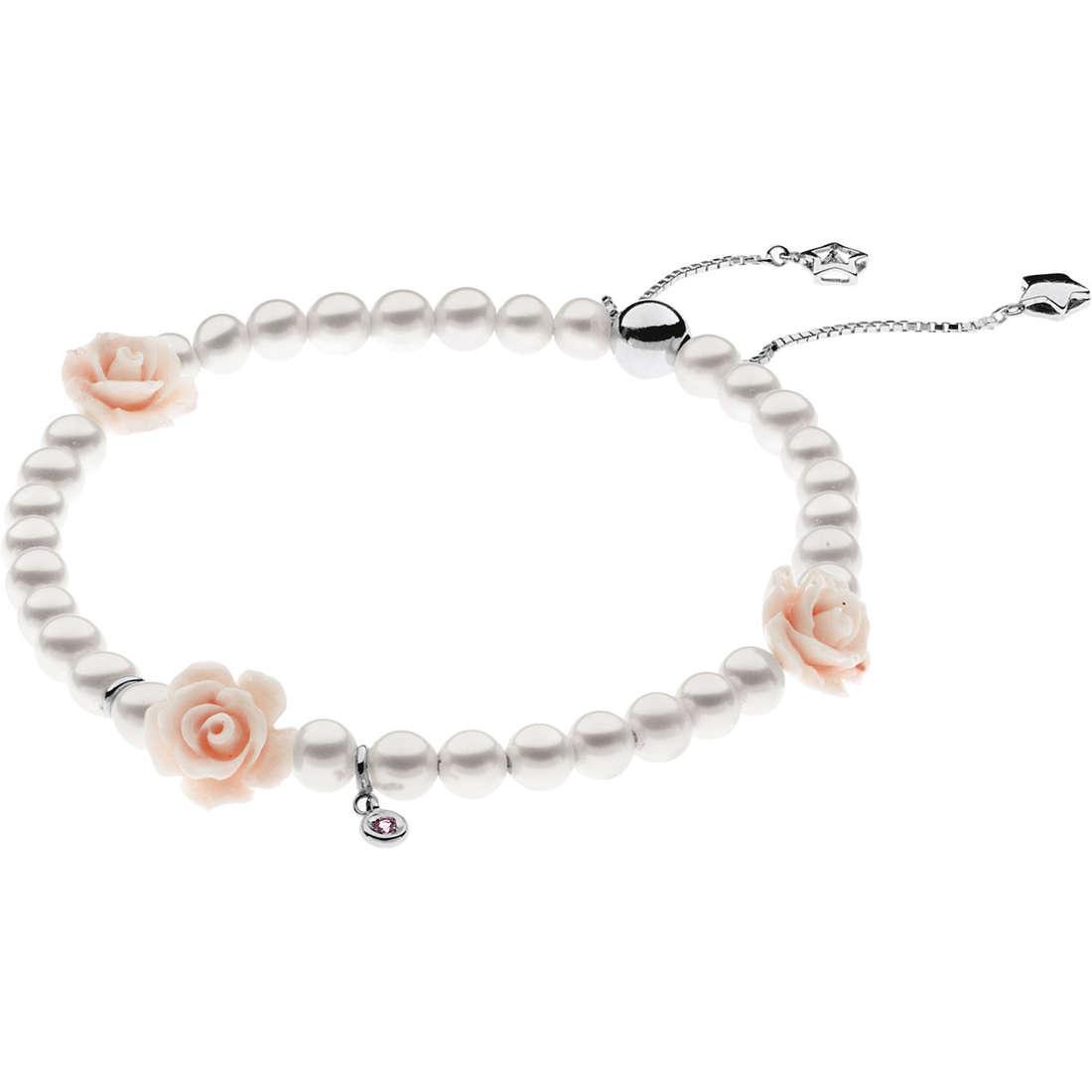 bracciale donna gioielli Comete Perla BRQ 161