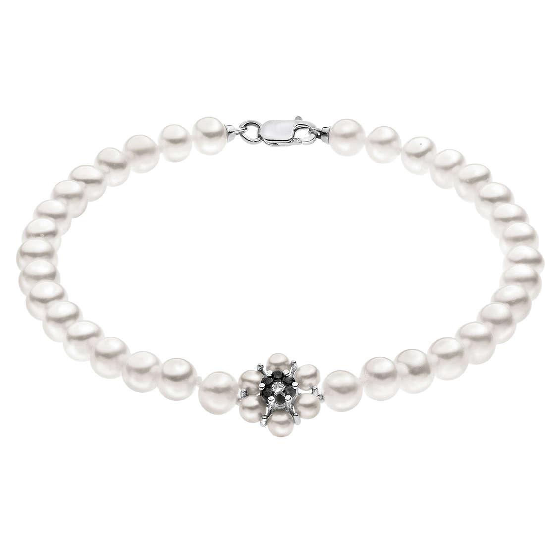 bracciale donna gioielli Comete Perla BRQ 174