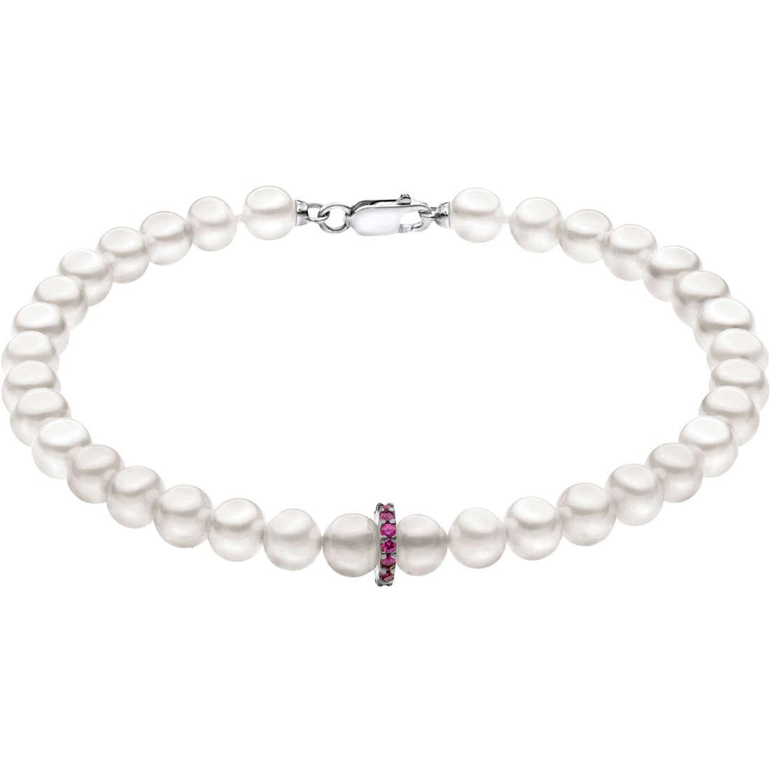 bracciale donna gioielli Comete Perla BRQ 178