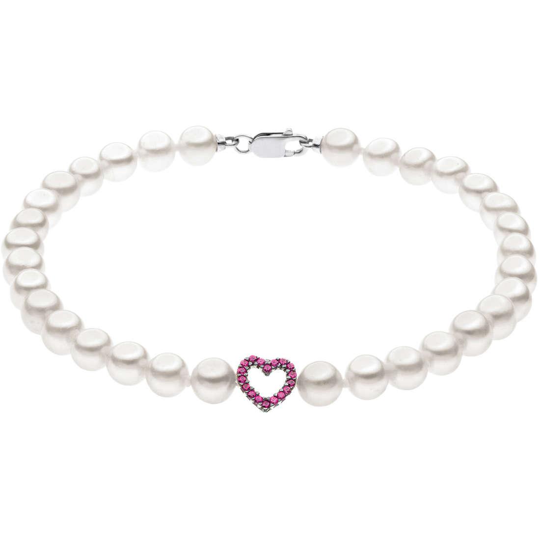 bracciale donna gioielli Comete Perla BRQ 180