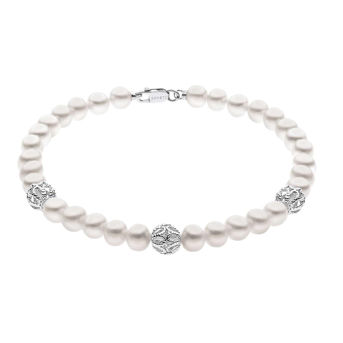bracciale donna gioielli Comete Perla BRQ 182