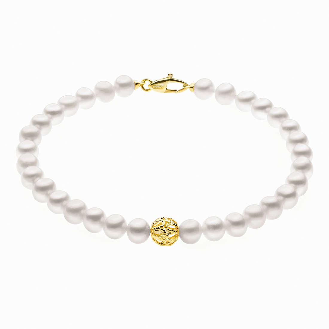 bracciale donna gioielli Comete Perla BRQ 183