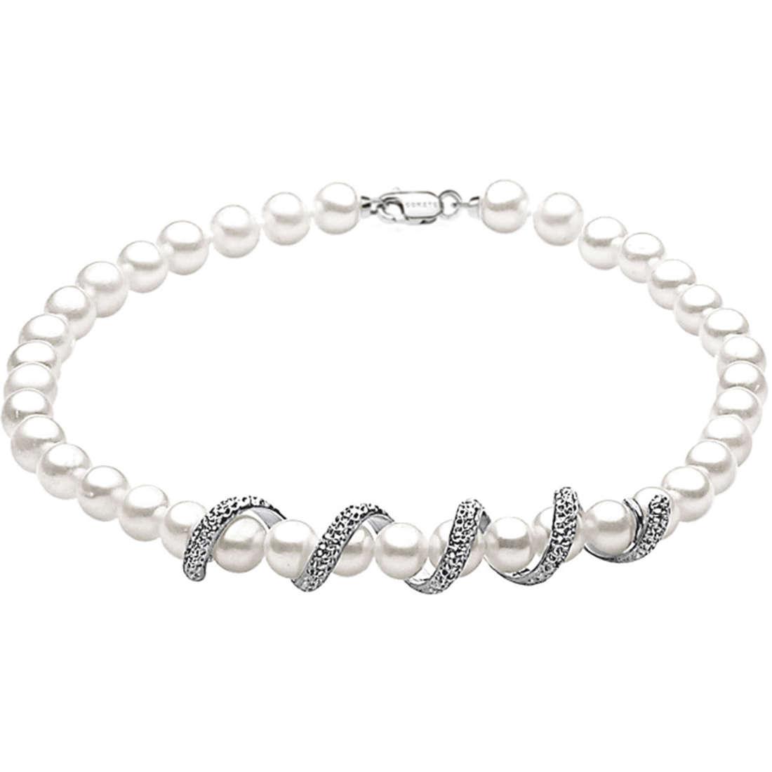 bracciale donna gioielli Comete Perla BRQ 185