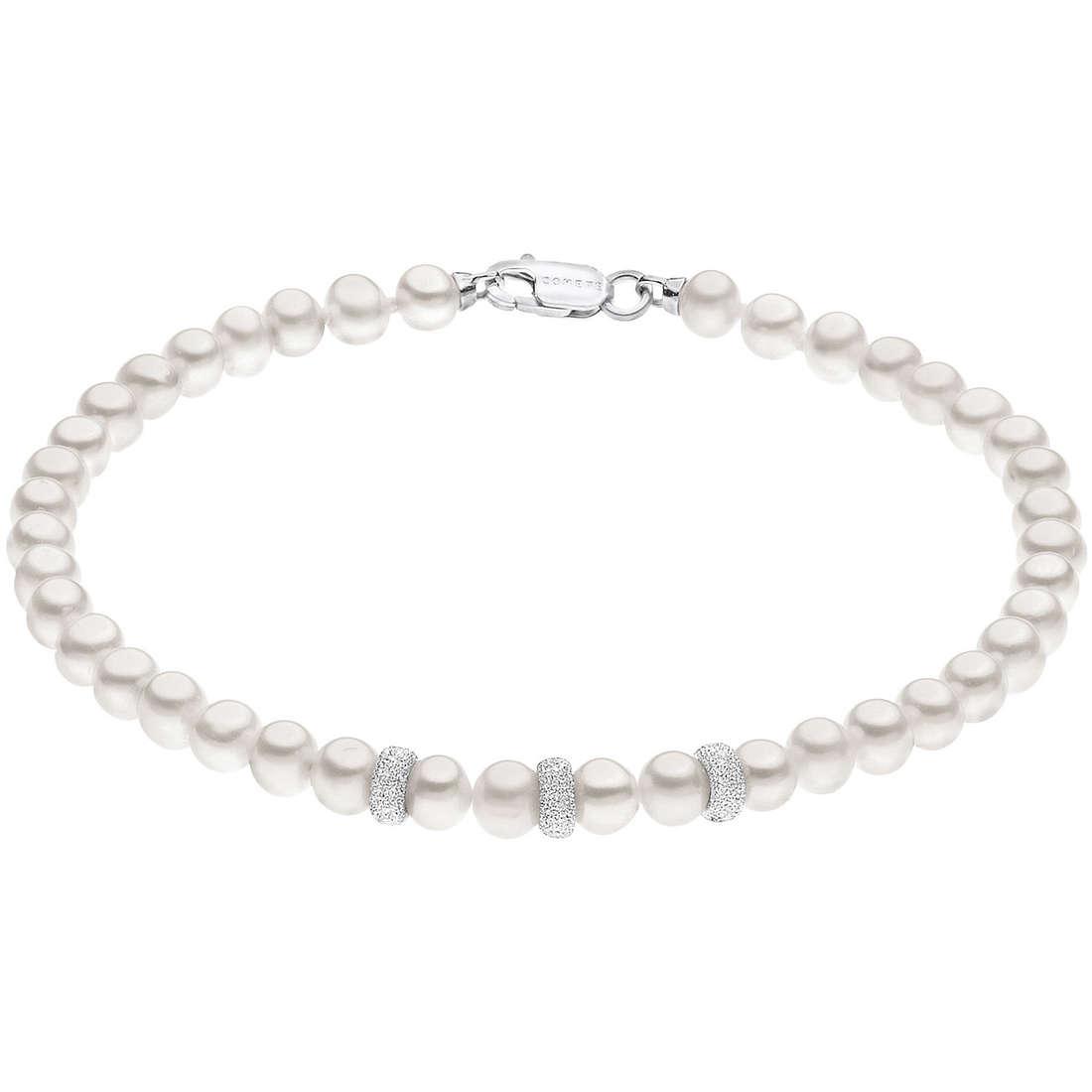 bracciale donna gioielli Comete Perla BRQ 188