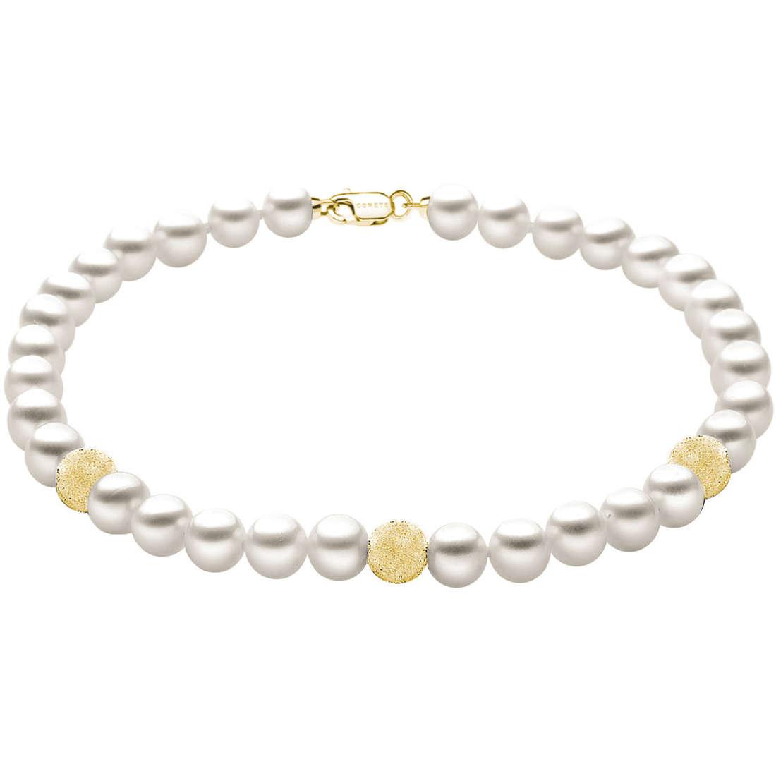 bracciale donna gioielli Comete Perla BRQ 190 G