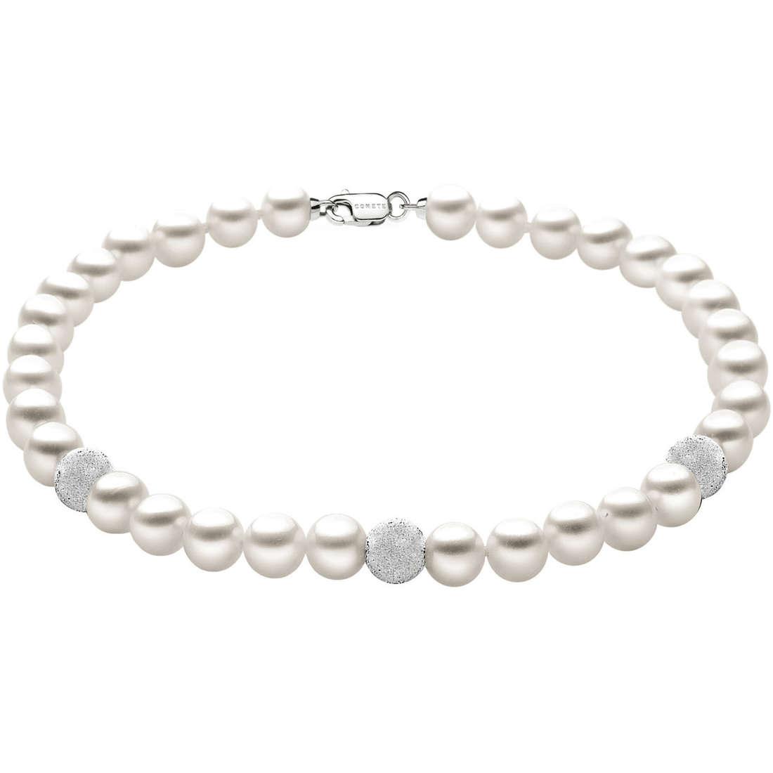 bracciale donna gioielli Comete Perla BRQ 193 B