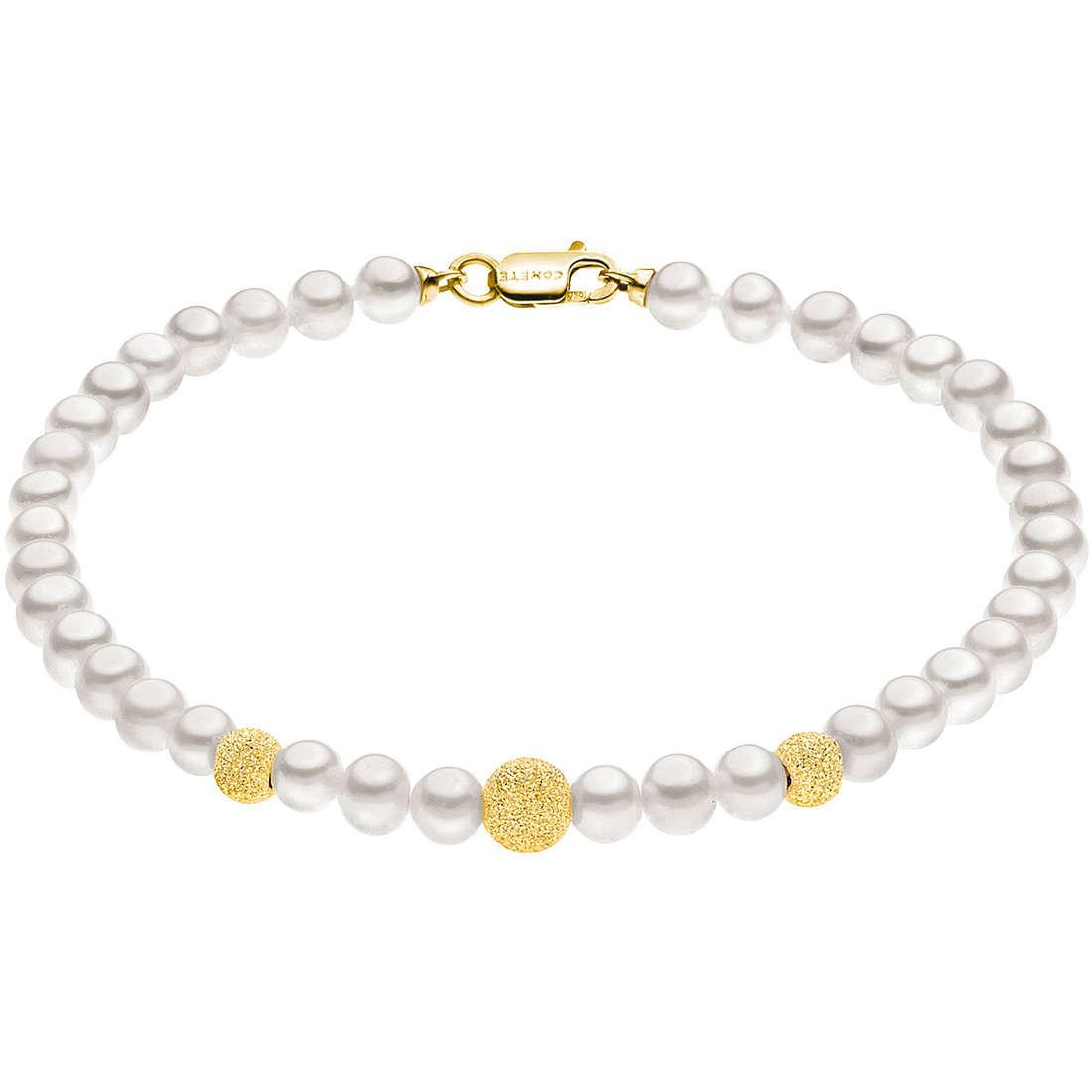 bracciale donna gioielli Comete Perla BRQ 195 G