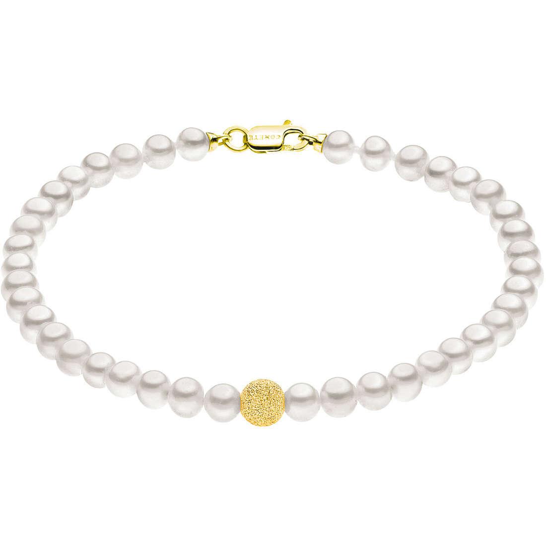 bracciale donna gioielli Comete Perla BRQ 196 G