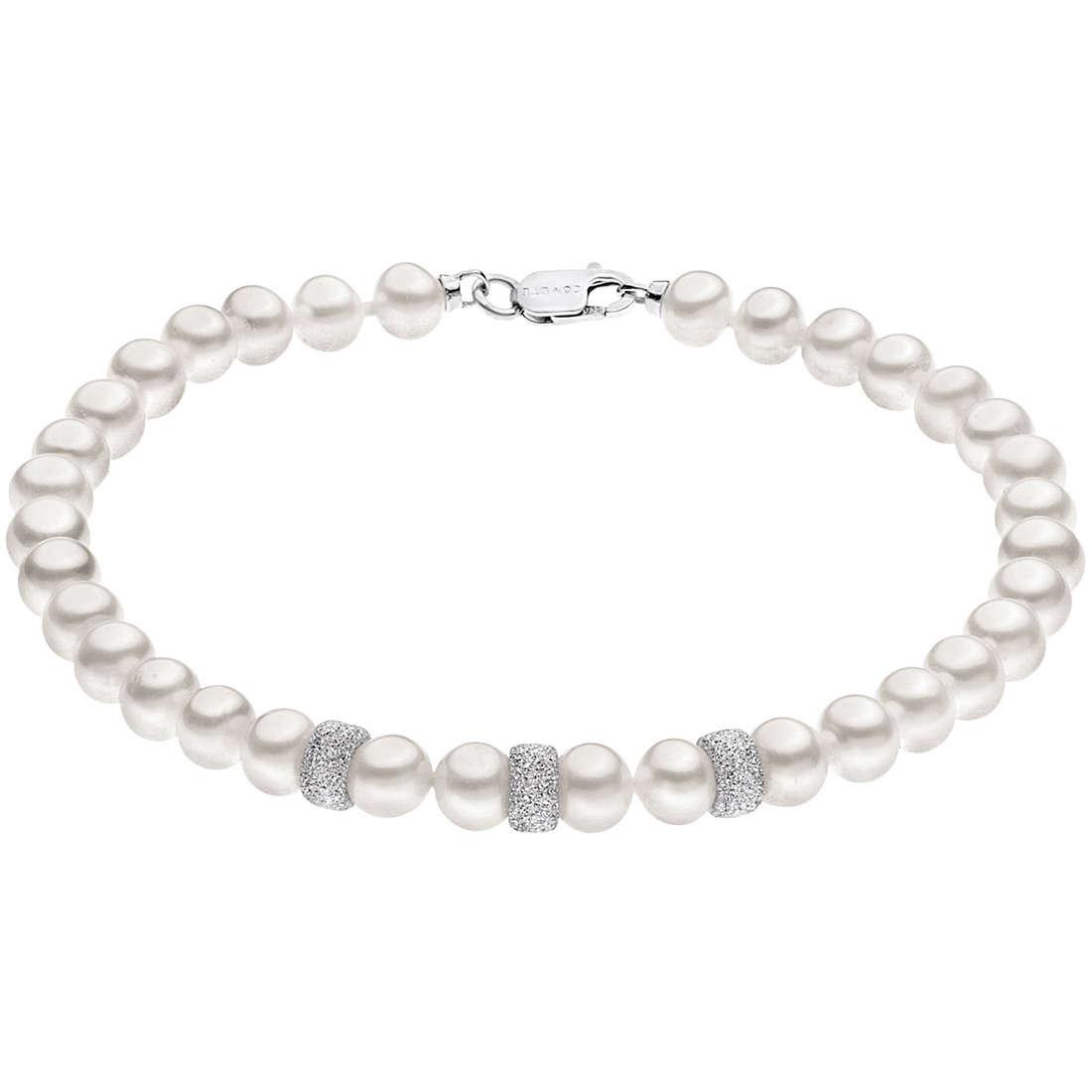 bracciale donna gioielli Comete Perla BRQ 197