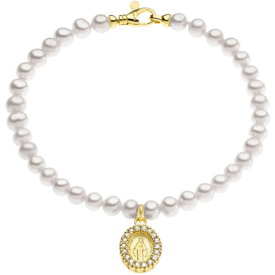 bracciale donna gioielli Comete Perla BRQ 201 G