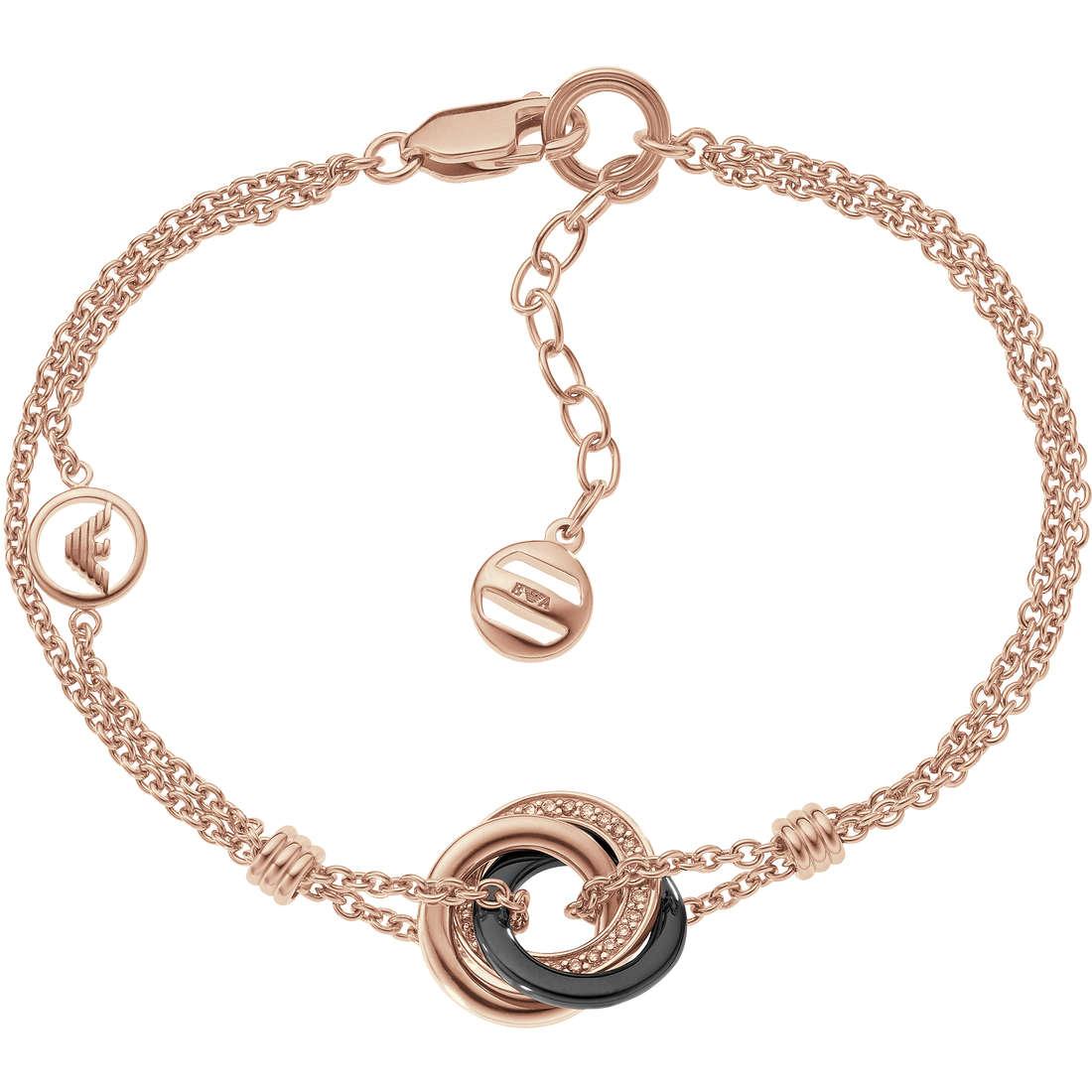 bracciale donna gioielli Emporio Armani Fall 2013 EG3082221