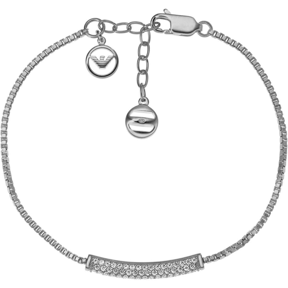 bracciale donna gioielli Emporio Armani Holiday EG3219040