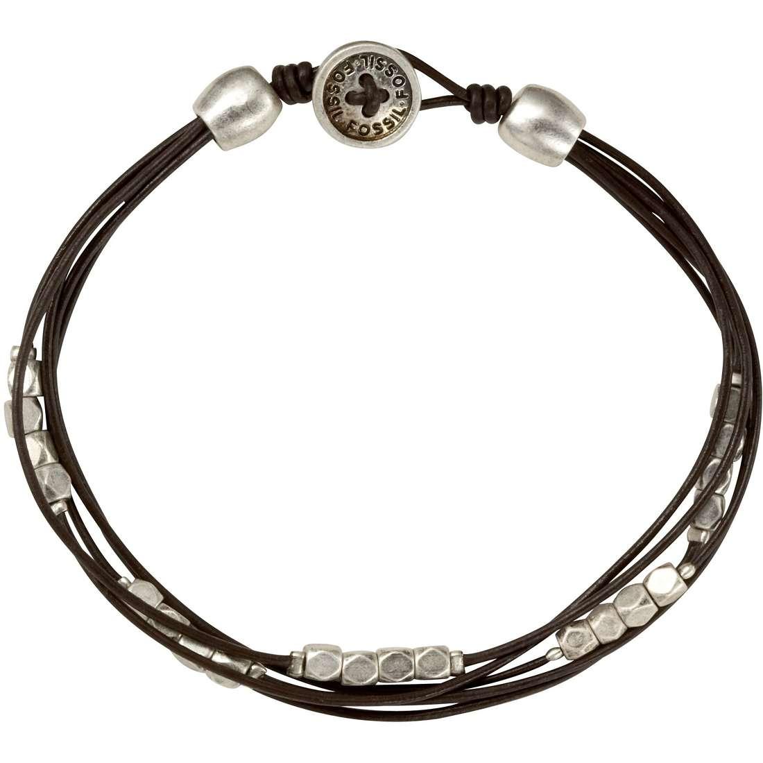 bracciale donna gioielli Fossil JA3354040