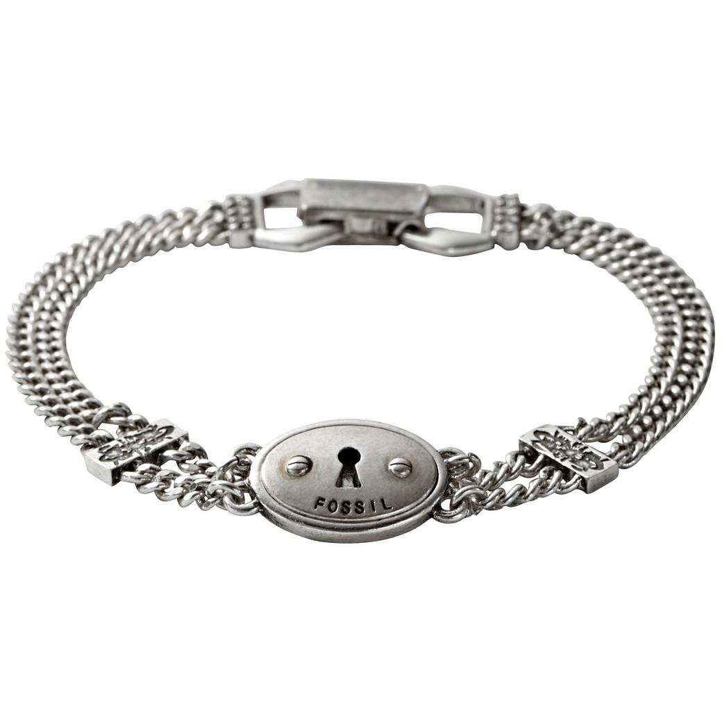 bracciale donna gioielli Fossil JA5020797