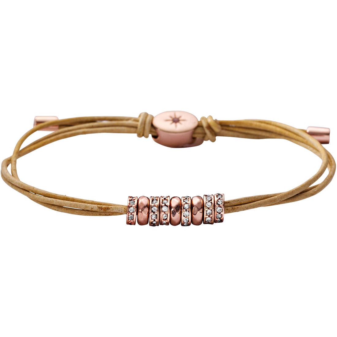 bracciale donna gioielli Fossil JA5795791