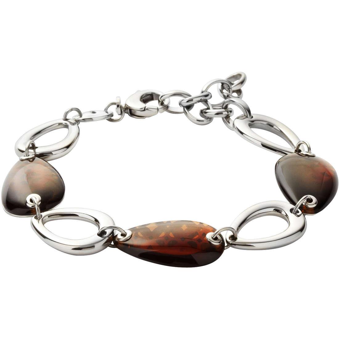 bracciale donna gioielli Fossil JF00007040