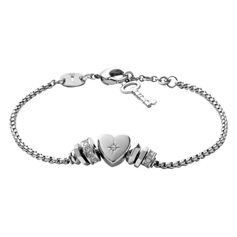 bracciale donna gioielli Fossil JF00113040