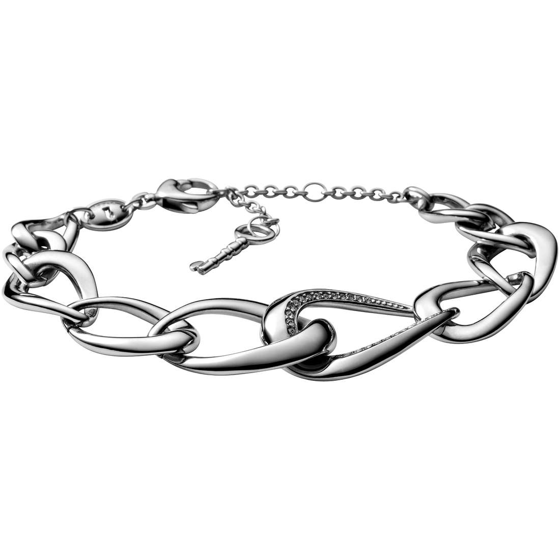 bracciale donna gioielli Fossil JF00161040