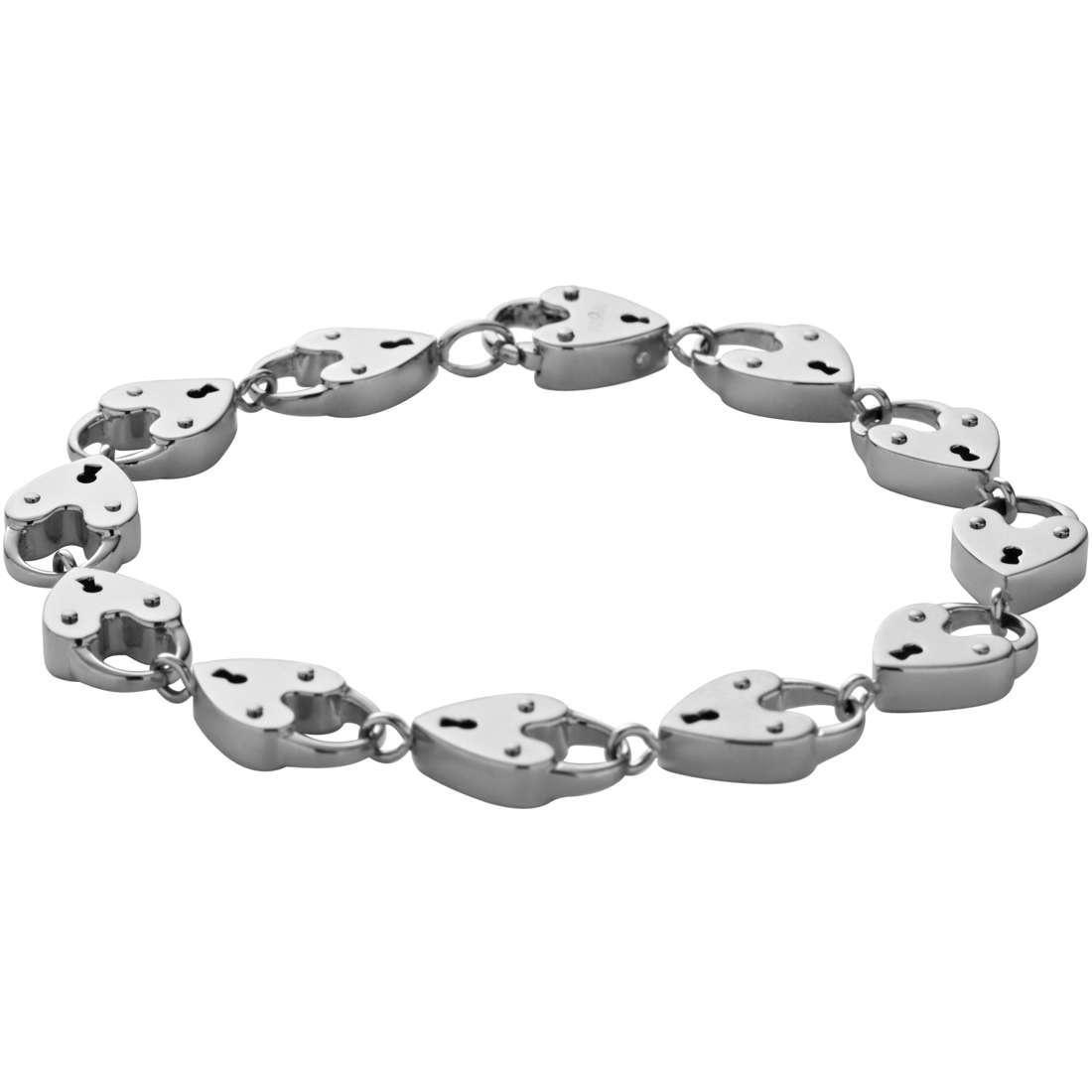 bracciale donna gioielli Fossil JF00211040