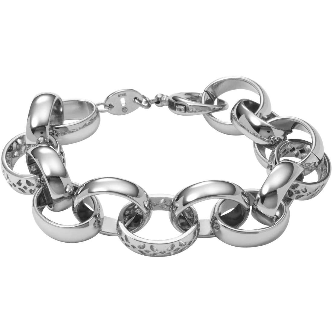 bracciale donna gioielli Fossil JF00418040