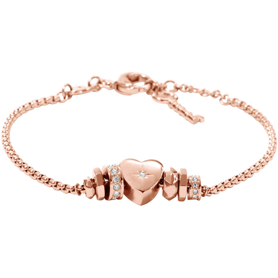 bracciale donna gioielli Fossil JF00652791