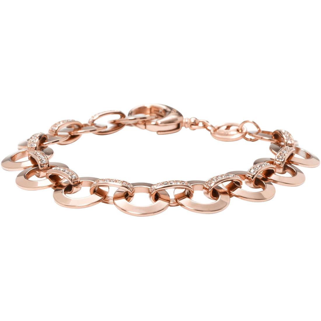 bracciale donna gioielli Fossil JF00693791
