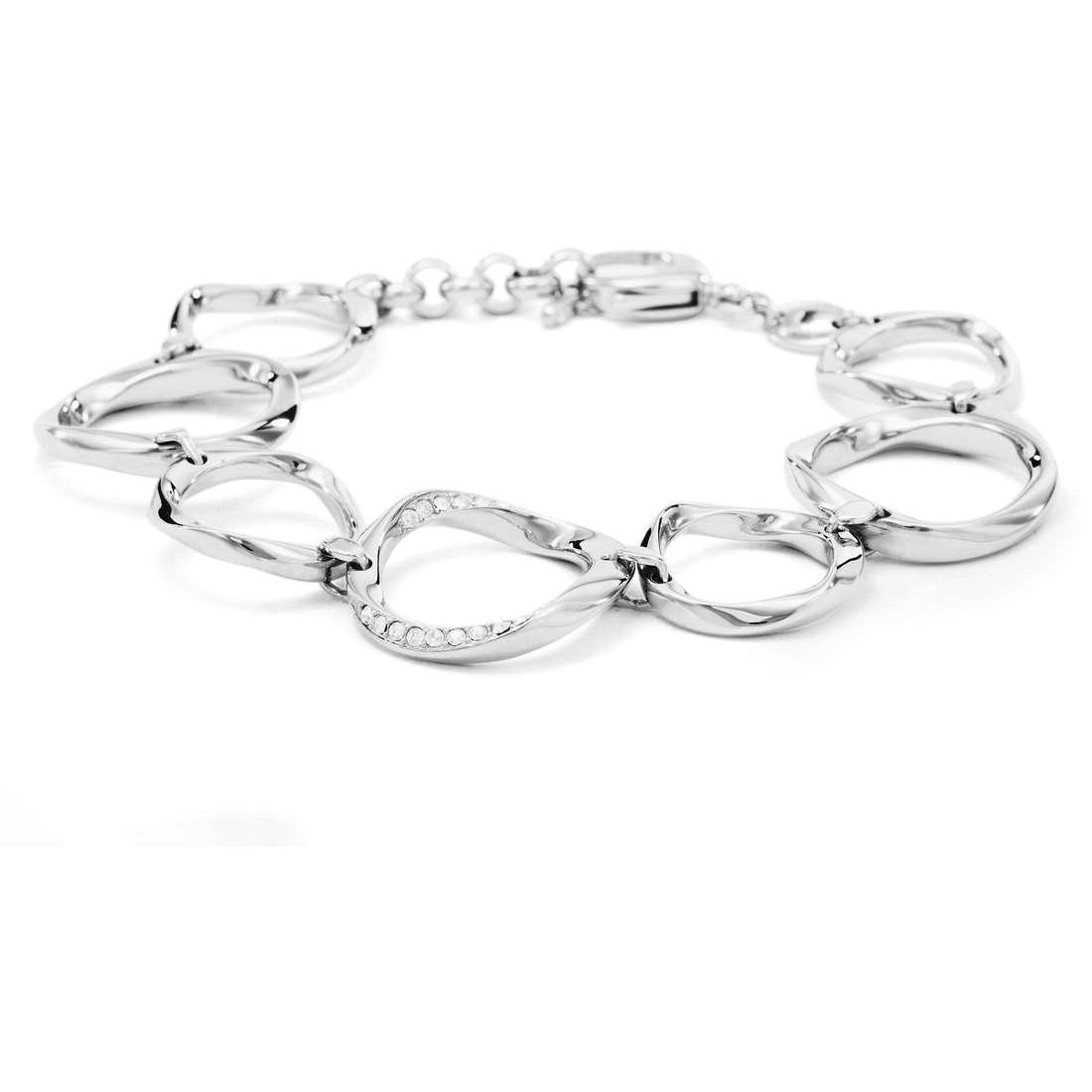 bracciale donna gioielli Fossil JF01145040