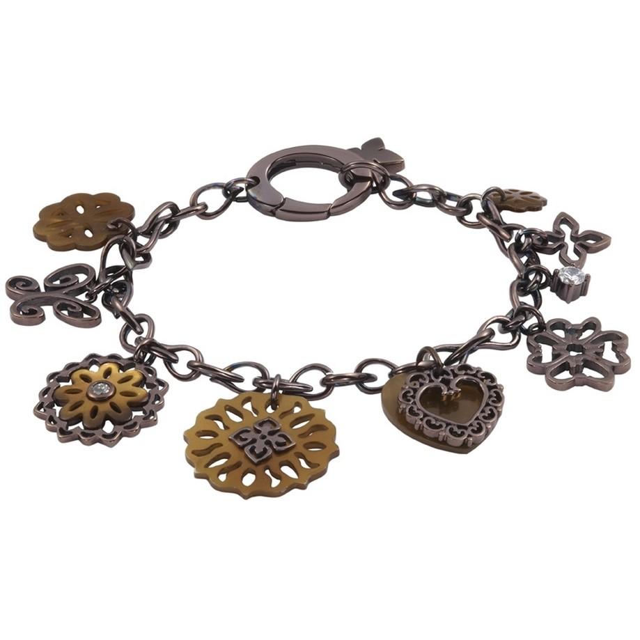 bracciale donna gioielli Fossil JF83678040