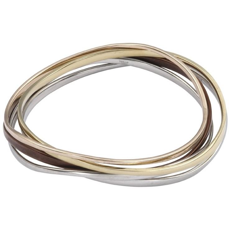 bracciale donna gioielli Fossil JF83690040