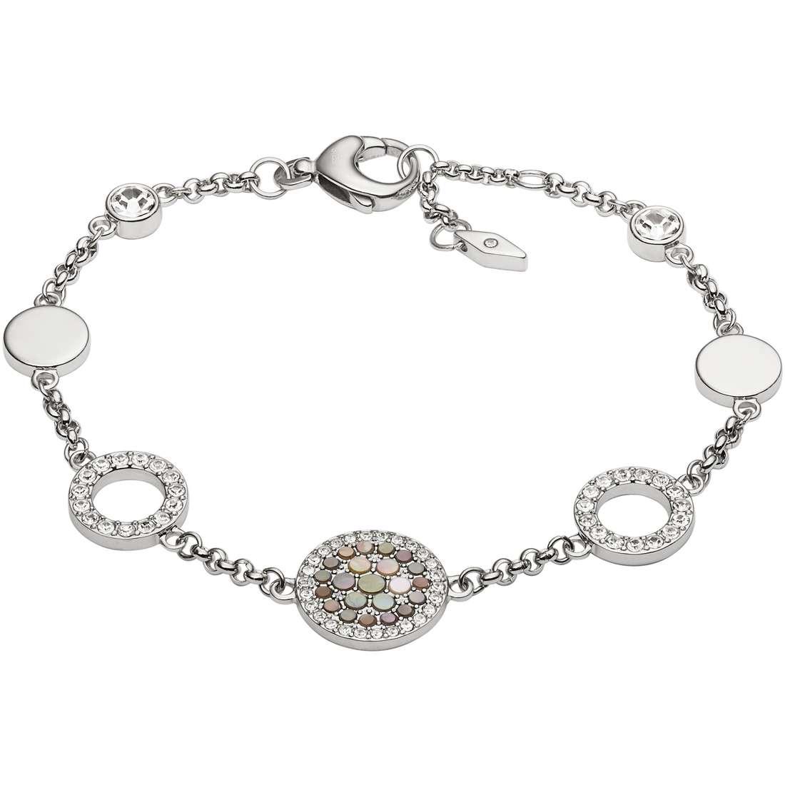 bracciale donna gioielli Fossil Vintage Glitz JF02311040