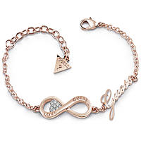 bracciale donna gioielli Guess Endless Love UBB85066-S