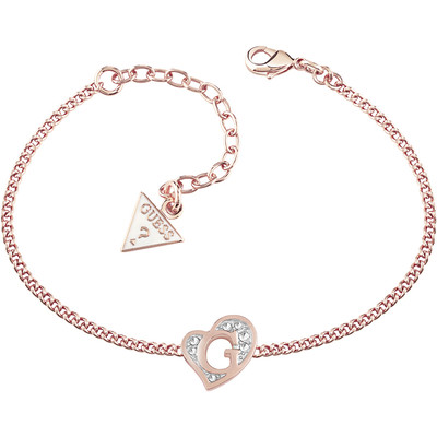 bracciale donna gioielli Guess G Hearts UBB71529-S