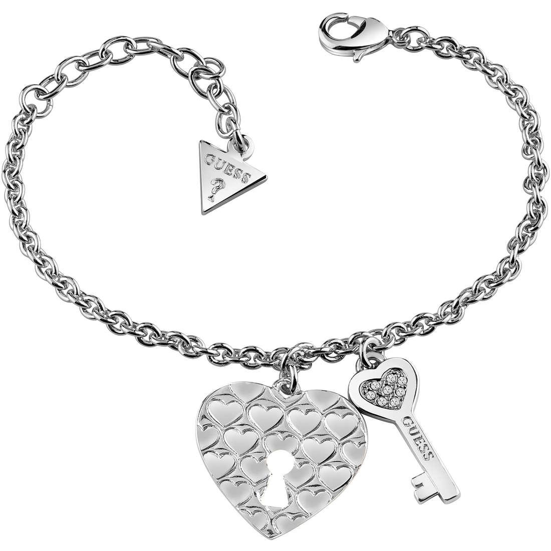 bracciale donna gioielli Guess Love Keys UBB83050 S