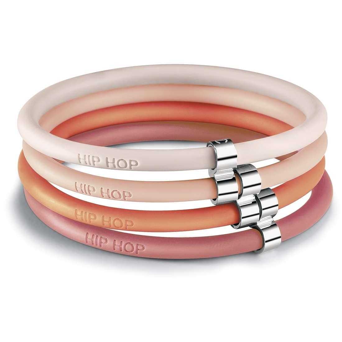 bracciale donna gioielli Hip Hop Happy Loops HJ0291